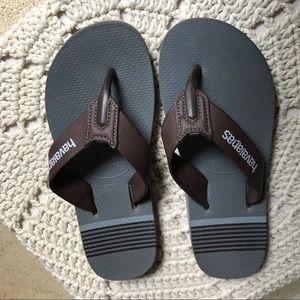 EUC Havaianas Leather flip flops